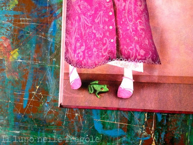 Alice racconta la principessa rosa.