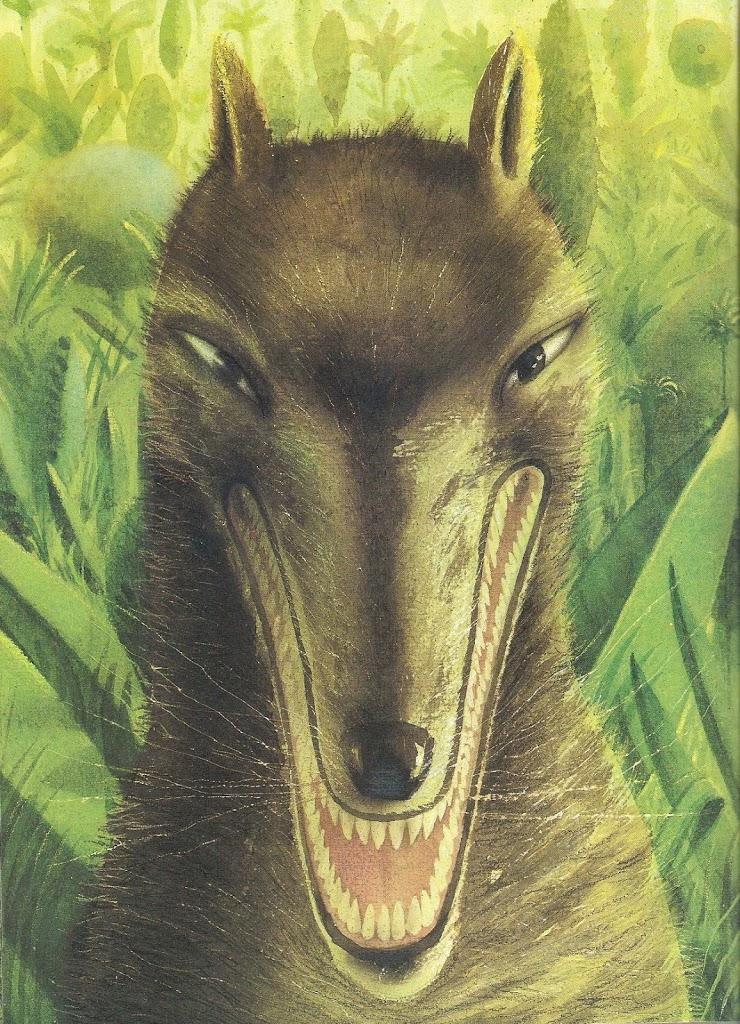 Mi chiamo Adolfo e sono un lupo.