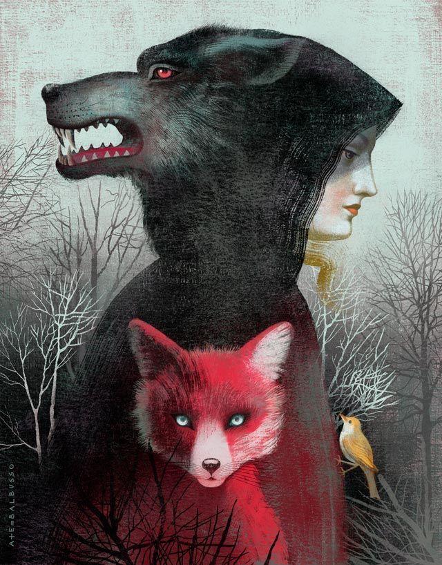 Dicono sia una donna, ma lei si sente lupo.